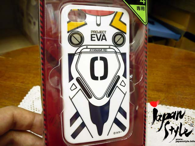Evangelion iPhone4 jacket Ayanami Rei