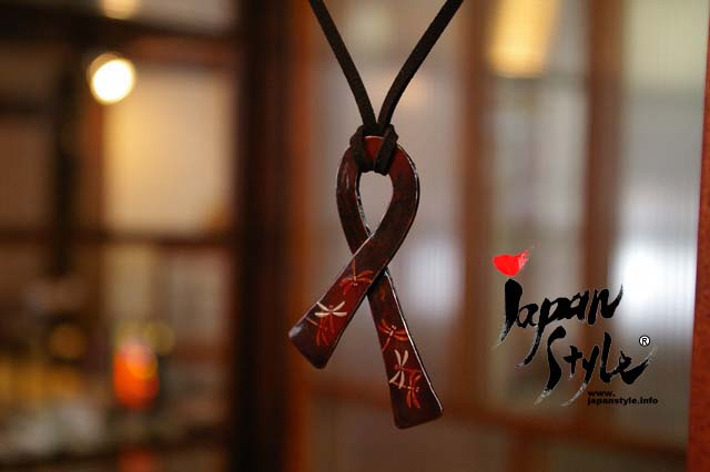 Japanese iron pendant peace