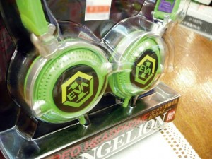 Evangelion headphone unit 01