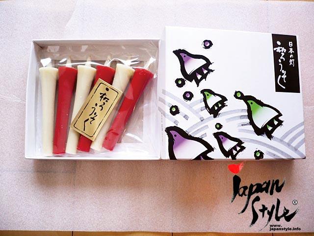 Japanese candle set
