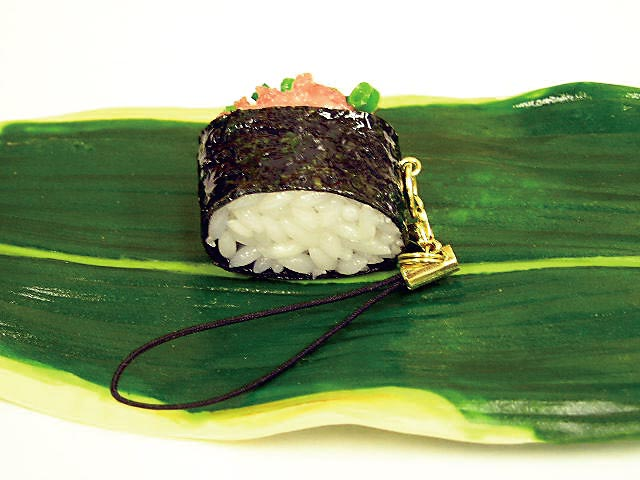 Japanese sushi strap minced fatty tuna & scallion