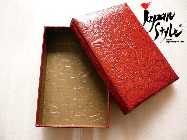 Japanese paper letter box urushi