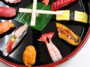 Japanese sushi wall clock