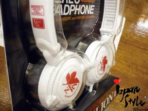 Evangelion headphone nerv white