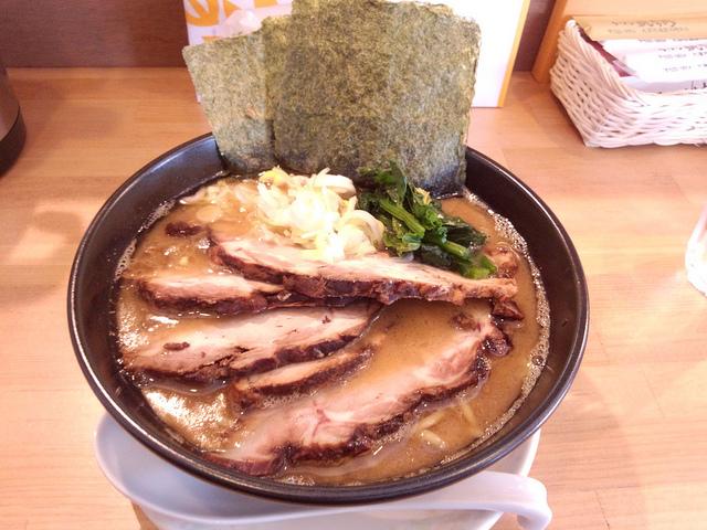 Japanese pork born soup ramen