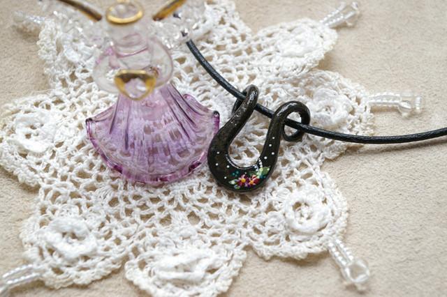 Japanese iron necklace
