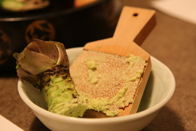 Japanese wasabi