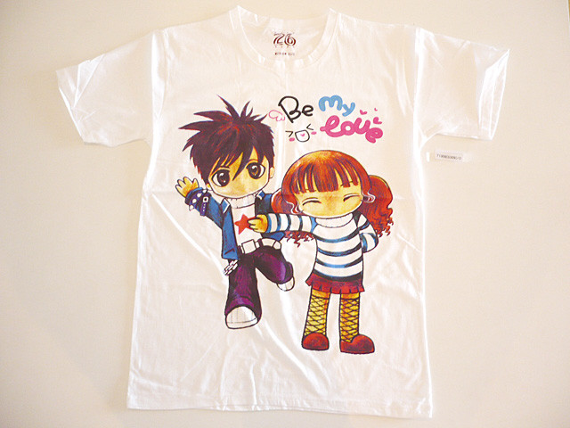 japanese cute manga t-shirts for ladies