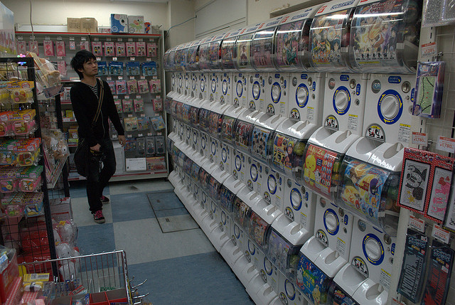 japanese gashapon