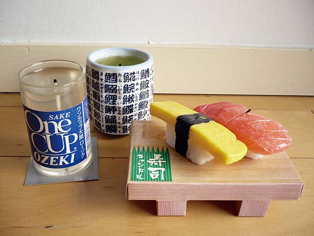 japanese fake food candle
