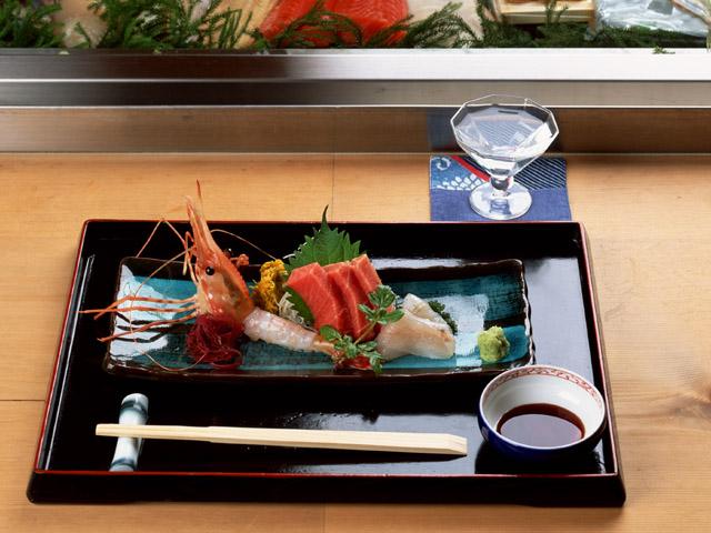 japanese foods sashimi