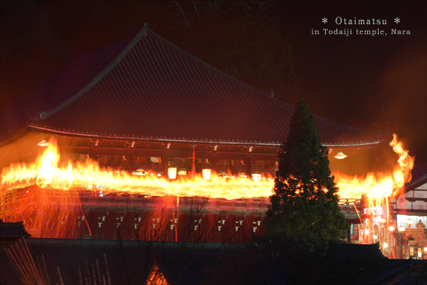 20140303_photoblog_shunie torch of todaiji-temple
