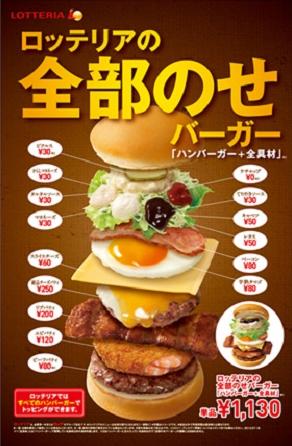 lotteria burger