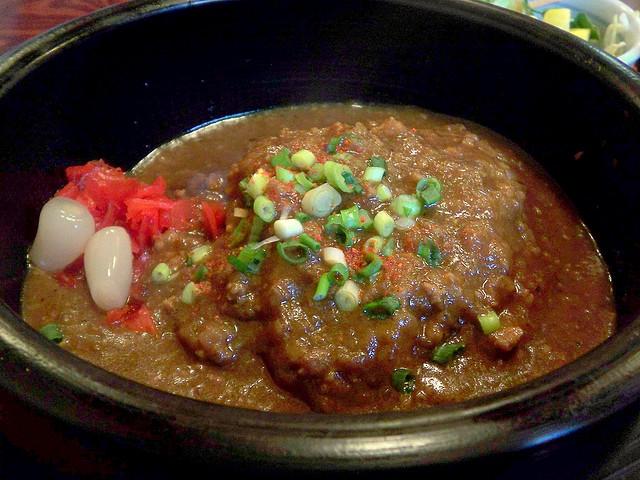 japanese natto dish