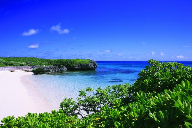 Beach in Miyako-jima