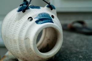 "Ceramic Pig for Mosquito Repellent. ""chez_sugi"" some rights reserved. flickr"