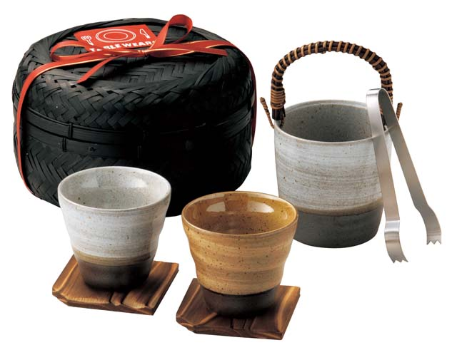 pottery bar set