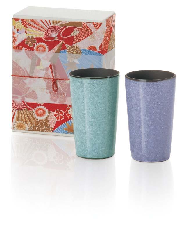 Japanese pottery tumbler