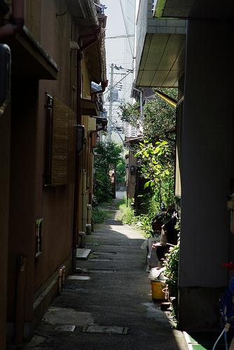 Japanese Alleys