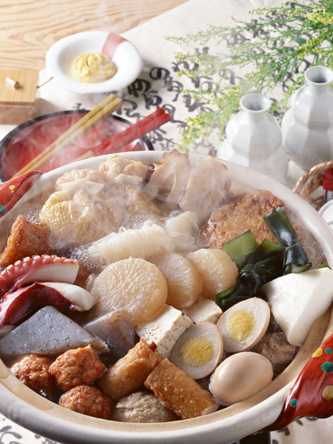 Japanese ODEN. Copy right 金魚8