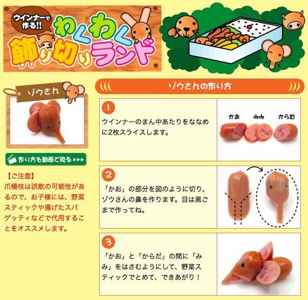 bento sausage