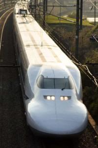 Shinkansen: Nozomi 700 series. Copy right 里見 光一