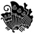 Taira kamon. The butterfly kamon of the Taira clan.