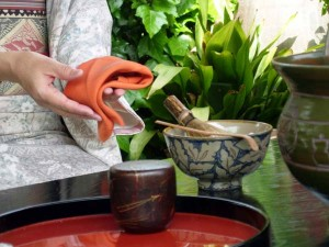 Tea ceremony. Copy right yuri