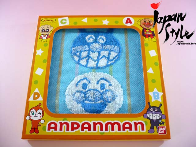 anpanman mini towel