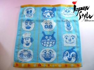 anpanman towel set