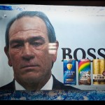 Tommy Lee Jones on a coffee add. the accidentalist some rights reserved. flickr