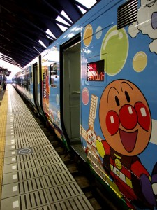 "Anpanman On a Train. ""amk713"" some rights reserved. flickr"