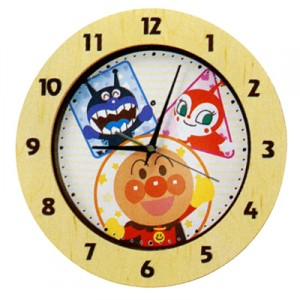 anpanman wall clock