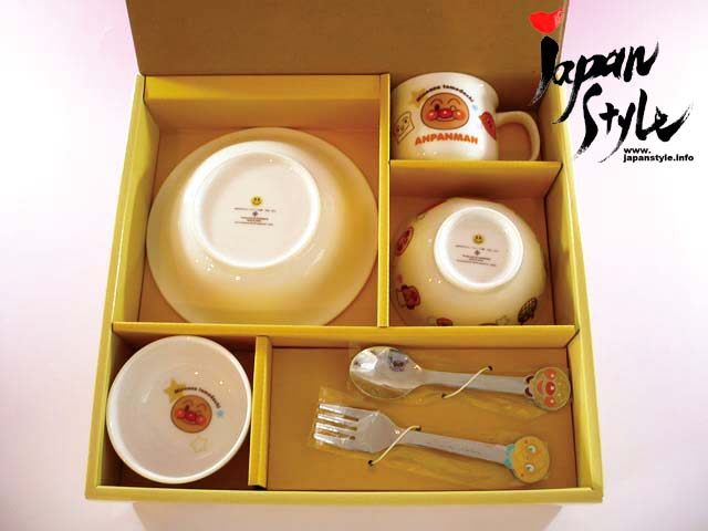 anpanman tableware set