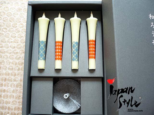 Japanese candle ninja