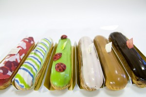 "Eclairs from Fauchon in the Depachika of Takashimaya. ""yuichi.sakuraba"" some rights reserved. flickr"