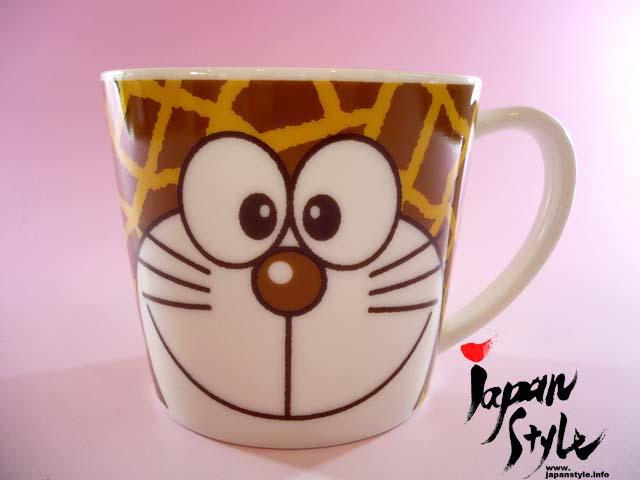 doraemon mug giraffe