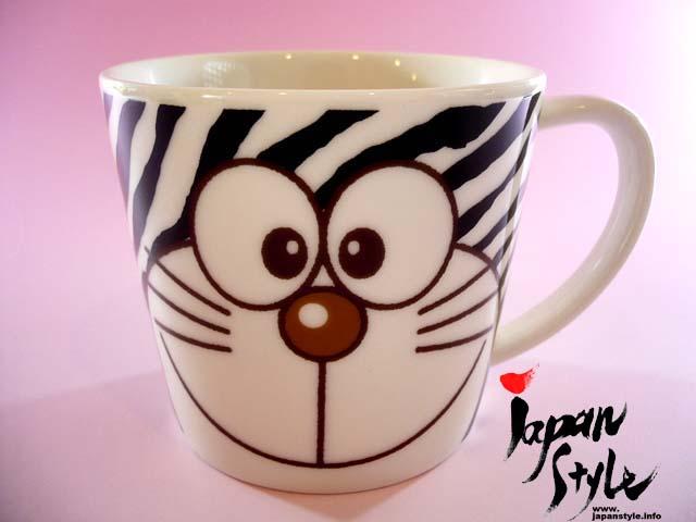 doraemon mug zebra