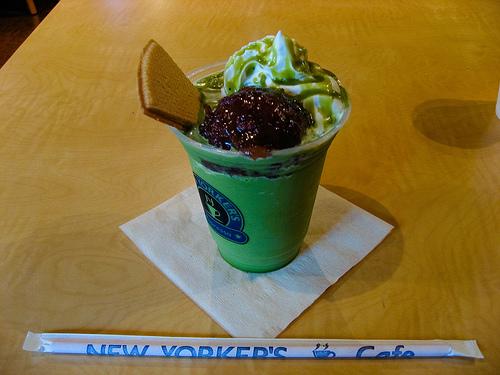 Frozen Green Tea Smoothie