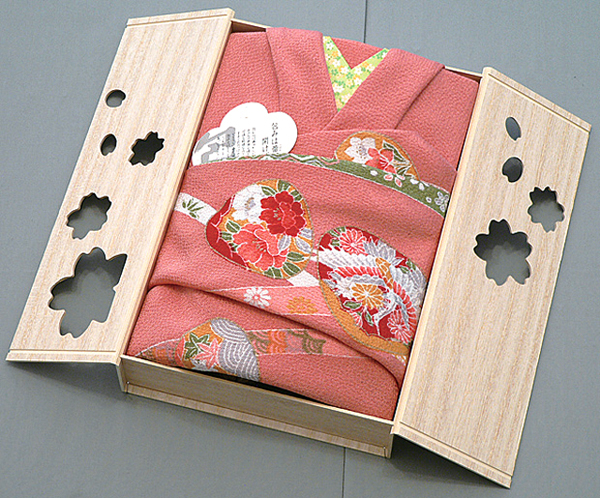 Japanese traditional wrapping cloth, FUROSHIKI 01