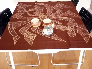 furoshiki tablecloth