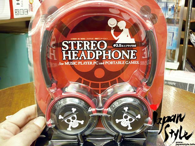 headphone one piece