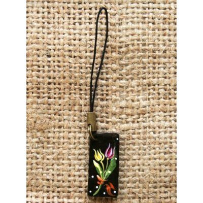 Japanese iron strap charm tulip