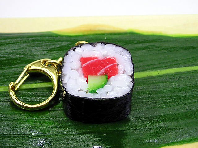 Japanese sushi roll tuna