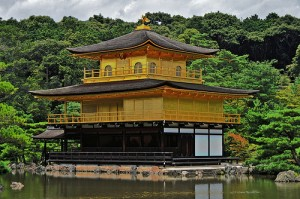 "Kinkaku-ji (The Gold Pavilion Temple). ""Riddian"" some rights reserved. flickr"