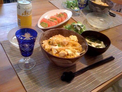 """Blue Edo-kiriko Glass. """"yurhythm"""" some rights reserved. flickr"""