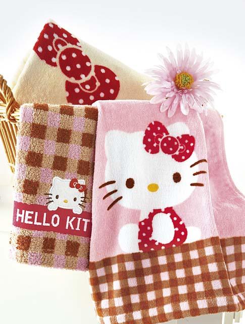 hello kitty towel set