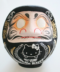 kitty_daruma_black