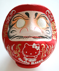 kitty_daruma_red