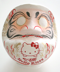 kitty_daruma_white